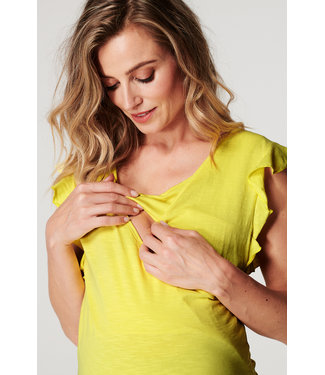 Noppies Noppies - T-shirt d'allaitement Bertie - 100% coton biologique - Endive