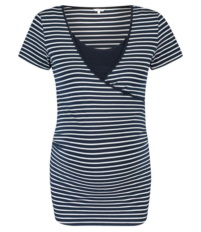 Noppies Noppies - T-Shirt d'allaitement Paris - Night Sky Stripe