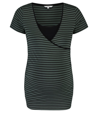 Noppies Noppies - T-Shirt d'allaitement Paris - Urban Chic Stripe