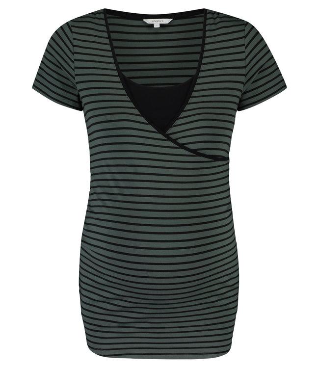 Noppies Noppies - Still-T-Shirt Paris - Urban Chic Stripe