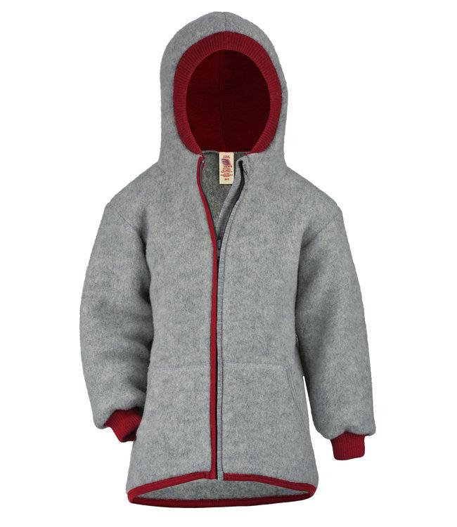 Engel Natur Engel Natur - Veste pour enfants avec capuche, fermeture éclair et poche doublée - laine polaire