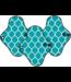 MaM MaM - Serviettes menstruelles Ecofit - Regular (3 pièces) - Serviettes hygiéniques / protège-slips lavables - Carrelage marocain