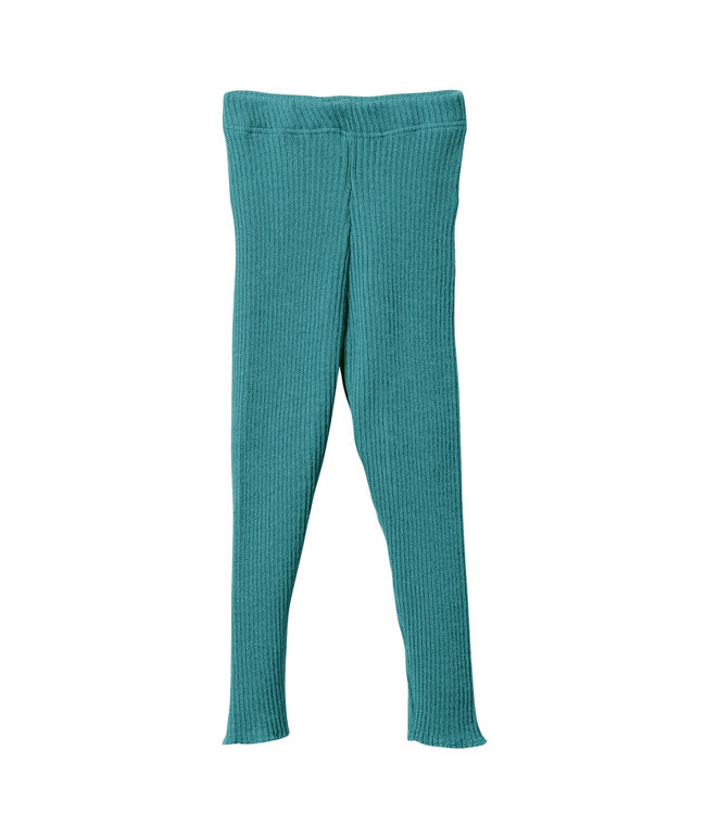 Disana disana Strick-Leggings - lagoon