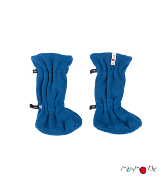 Manymonths Manymonths - Stiefel Baby - Woolies Adjustable Winter Booties MaMTec- Merino - cosmos blue