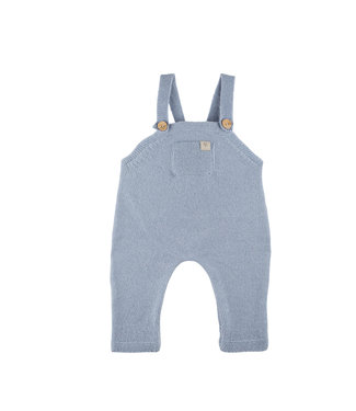 Pure Pure (By Bauer) Pure Pure - Baby Latzhose - Latzhose aus Wolle - eisblau