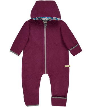 Loud and Proud Loud and Proud - Overall Woll-Fleece - plum