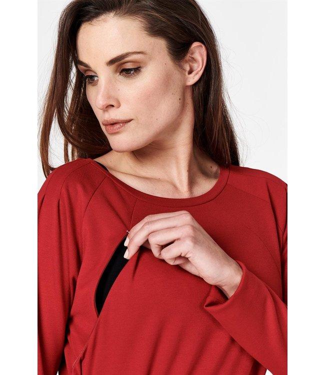 Noppies Noppies - Robe d'allaitement, robe de maternité - Sydney - Rio Red