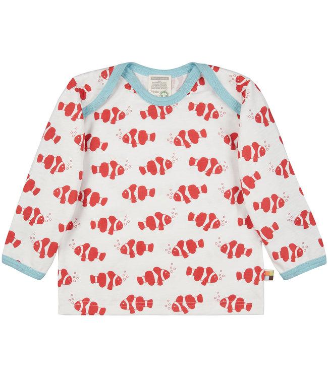 Loud and Proud Shirt Druck langarm - Clownfisch - chili