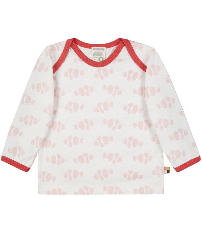 Loud and Proud Shirt Druck langarm - Clownfisch - rosé
