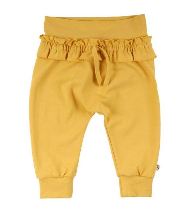 Müsli Pantalon bébé à volants - soleil