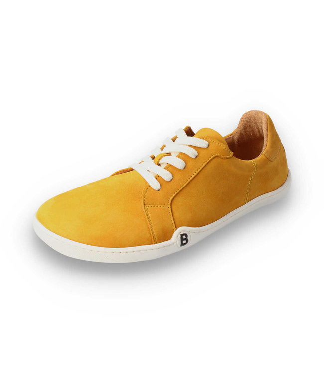 B Lifestyle Barfussschuh - groundSTYLE - senf