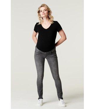 Supermom Skinny Umstandsjeans OTB - aged grey