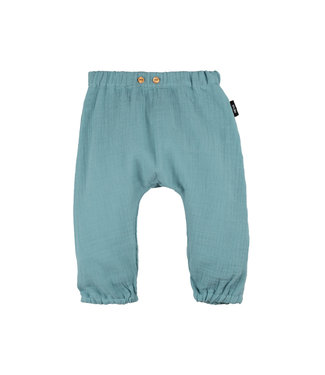 -Pure Pure- by Bauer Baby-Hose lang - Mull - minty ice