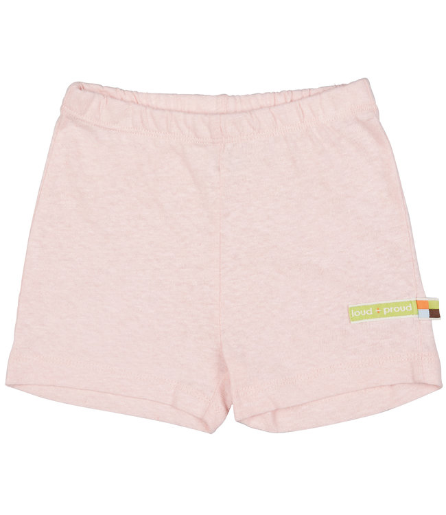 Loud and Proud Pantalon / short court - mélange de lin - rosé