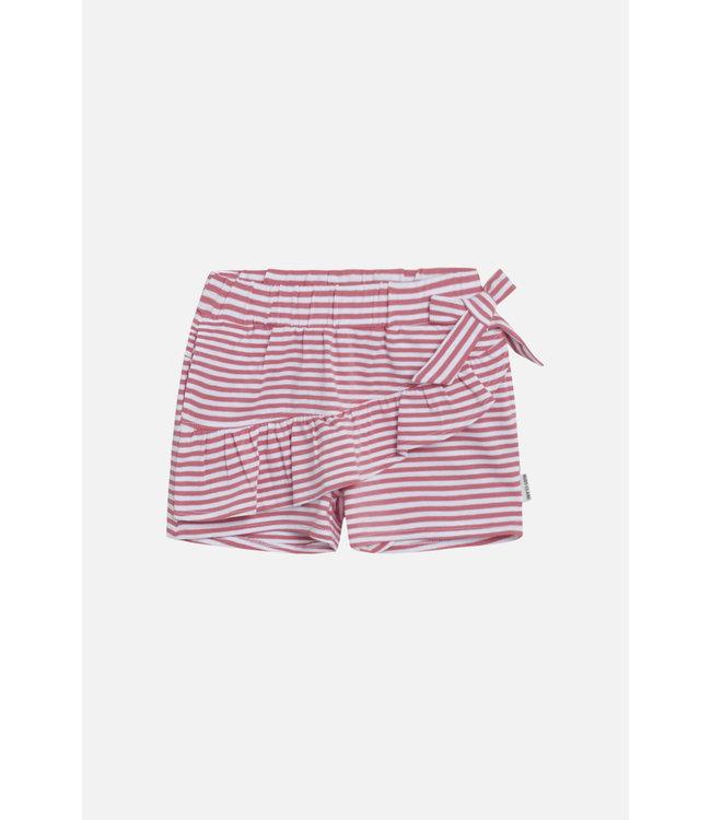 Hust and Claire Hazel - Shorts - kurze Hosen - gestreift - pink/weiss