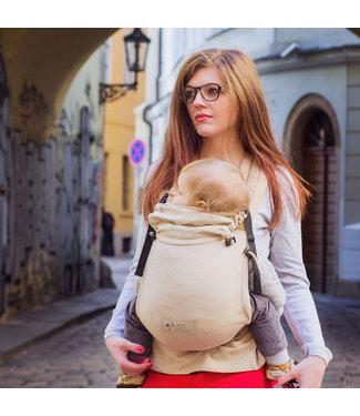 Storchenwiege Porte-bébé Storchenwiege avec boucle de ceinture - naturel