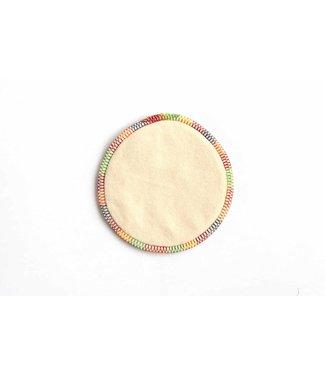 ALMO Coussinets d'allaitement avec protection anti-fuites - coton biologique