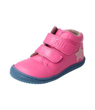 Filii Chaussure pieds nus - Chaussure pieds nus - Velcro en molleton de laine nappa rose CHAMELIION