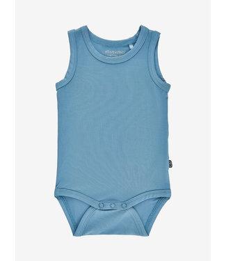 Minymo Body ärmellos - Bambusviskose - blue heaven