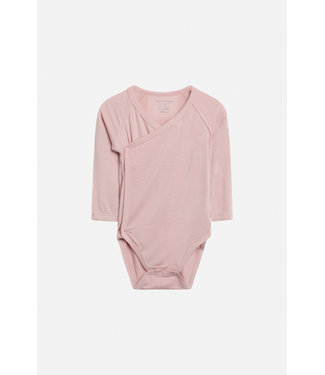 Hust and Claire Buddy - body wrap manches longues - viscose de bambou - rosé