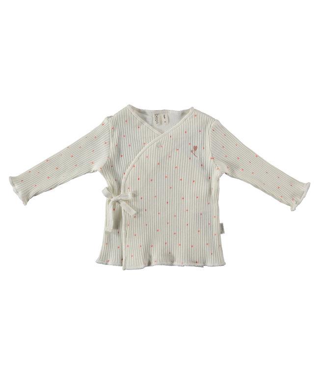 love2wait BESS - chemise portefeuille côtelée et à pois