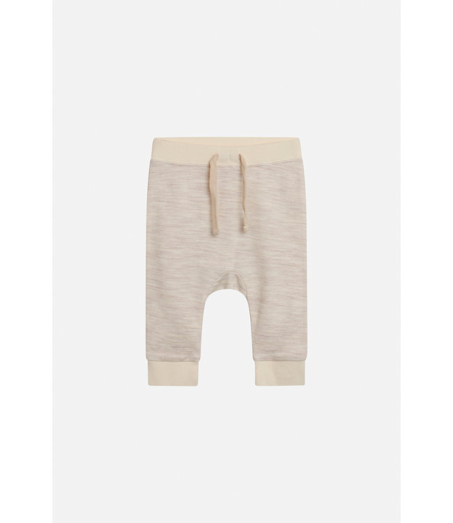 Hust and Claire Gaby - Joggers Hose - Wolle/Bambus - creme
