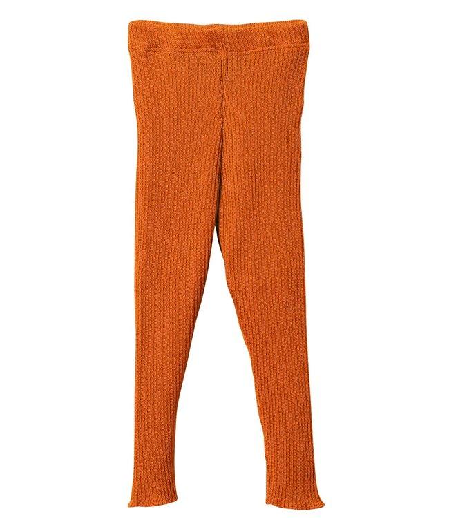 Disana Legging en tricot - pacifique - orange