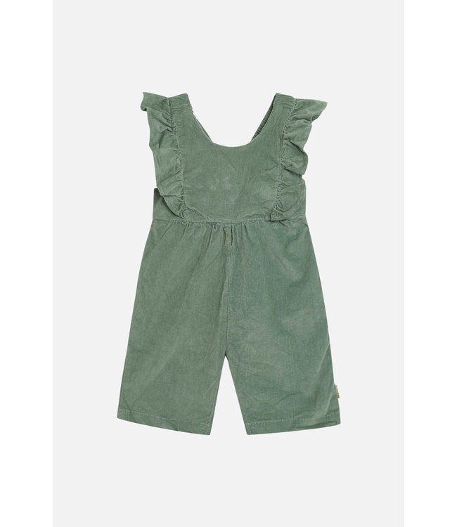 Hust and Claire   Mira - salopette - velours - vert pastel