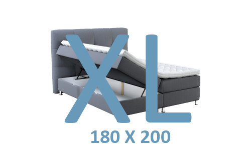 OPBERGBED XL