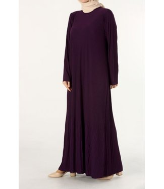 ALLDAY Long pleated dress
