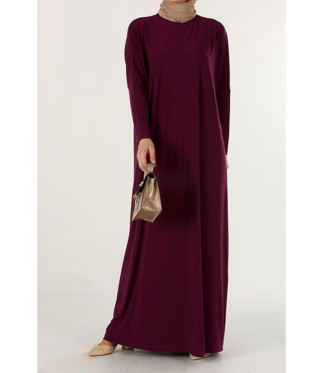 ALLDAY Lange jurk - Kers