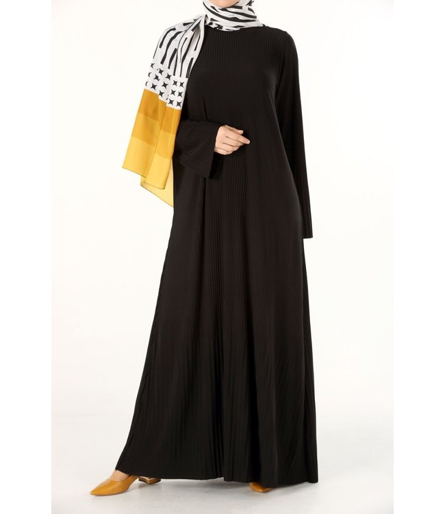 ALLDAY Lange plissé jurk
