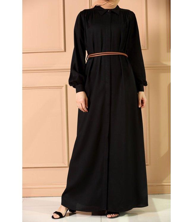 ALLDAY Long Dress with belt