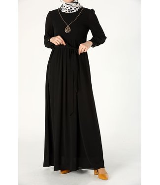 ALLDAY Long dress with a belt