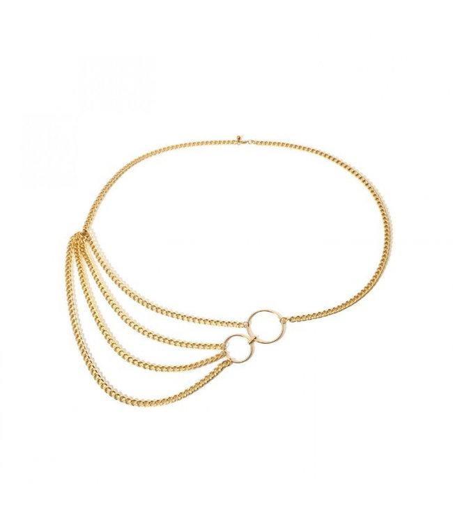 ECARLA Belt gold color