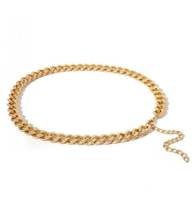 ECARLA Golden color belt