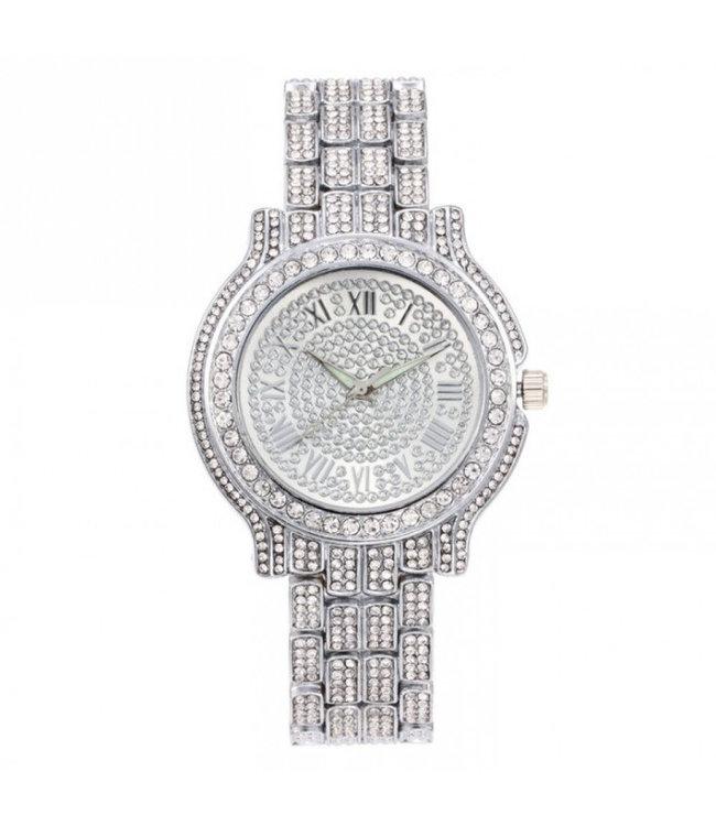 ECARLA Zilveren horloge
