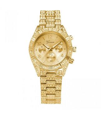 ECARLA Goudkleurig horloge