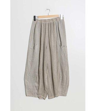 Linen Pants - Beige