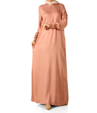 ALLDAY Long dress - Powder