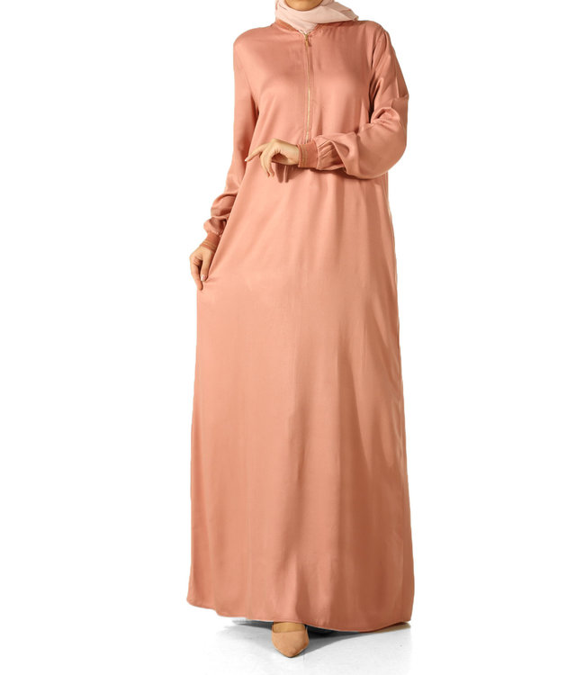 ALLDAY Lange jurk - Pudra