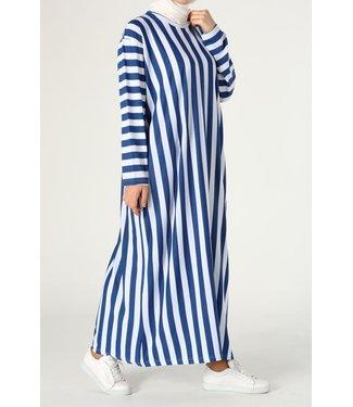 ALLDAY Gestreepte jurk
