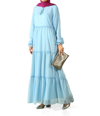ALLDAY Long dress - Baby blue