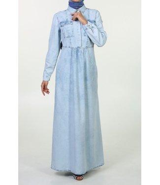 ALLDAY Lange denim jurk