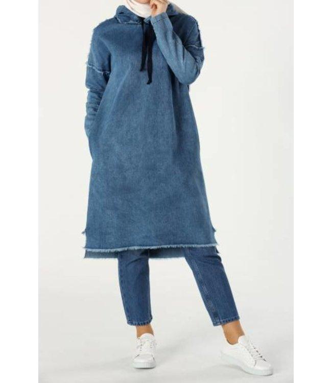 ALLDAY Denim tuniek - Blauw