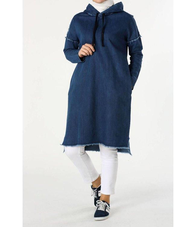 ALLDAY Denim tunic - dark blue