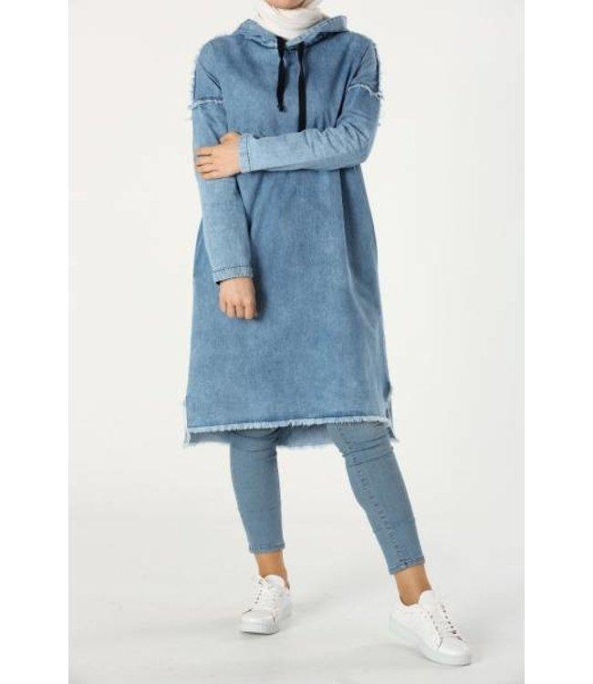 ALLDAY Denim tuniek - Light blue