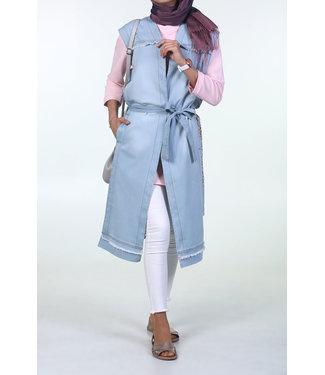 ALLDAY Denim sleeveless vest