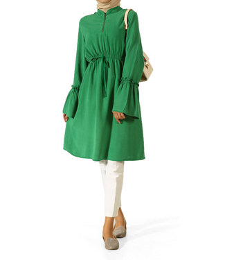 ALLDAY Tunic with flounce sleeves