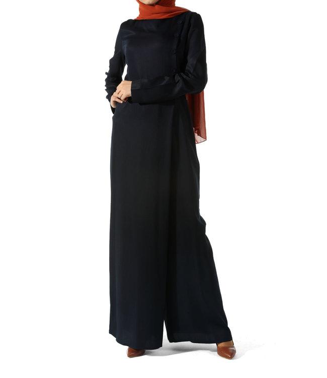 ALLDAY Elegant jumpsuit - Indigo